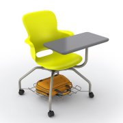Ethos Mobile School Chair with Storage, Tablet (18