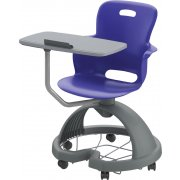 Ethos Mobile School Chair with Quad Base, Tablet