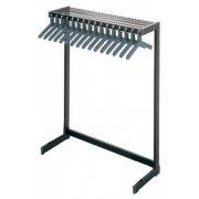 Metal Commercial Coat Rack (4')