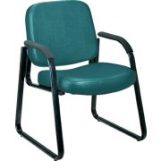 Richmond Reception Arm Chair in Vinyl
