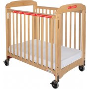 First Responder Evacuation Crib ClearView w/ Mattress