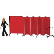 FREEstanding Portable Partition - 11 Panels (6'H x 20'5