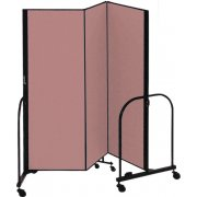 FREEstanding Portable Partition - 3 Panels (6'H x 5'9