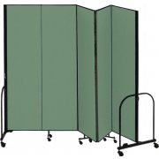 FREEstanding Portable Partition - 5 Panels (8'H x 9'5