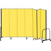 FREEstanding Portable Partition - 7 Panels (8'H x 13'1