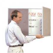 VisuALL Personal Tack-Whiteboard- Beige (3'x2')