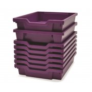 Gratnells Shallow Tray -  Pack of 8