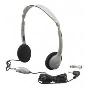 Personal Headset with Volume, 12 Pack