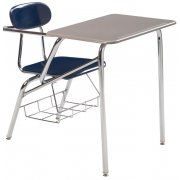 Combo Student Chair Desk - Hard Plastic, Support Brace (14