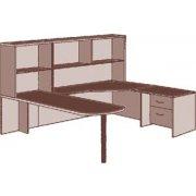 Peninsula U Office Desk- Right Extended Corner