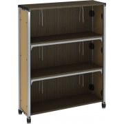 "Information Commons Library Shelving (48""H)"