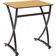 Illustrations V2 Classroom Desk - Laminate Top (26.5