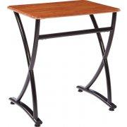 Illustrations V2 Classroom Desk - WoodStone Top (26.5