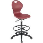Infuse Blow Molded Drafting Stool