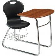Inspiration XL Swivel Student Chair Desk - Sled Base (18