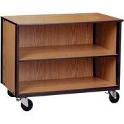 Mobile Office Library Storage Unit - 1 Adj Shelf, 36