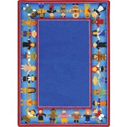 Children of Many Cultures Classroom Rug (5'4