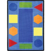 Sitting Shapes Classroom Rug (5'4