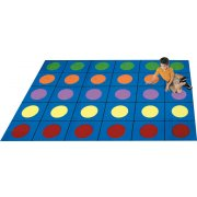 Lots of Dots Rectangle Carpet (5'4
