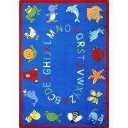 ABC Animals Rectangle Carpet (5'4