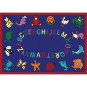 ABC Animals Rectangle Carpet (13'2