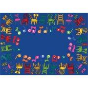 Musical Chairs Carpet (7'8