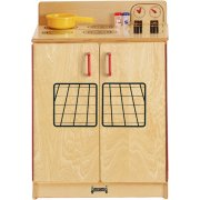 JNT Wooden Play Kitchen Stove