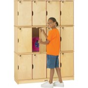 Stacking Preschool Lockers - Triple Tier
