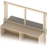 Upper Deck Acrylic Preschool Room Divider