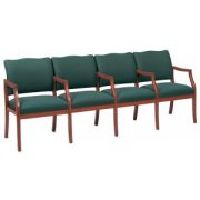 Franklin Reception Seating - Center Arms (4 Seater Sofa)