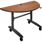 Half-Round Lumina Flipper Table (48