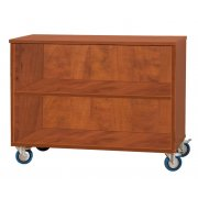 Mobile Storage Cabinet - Open (48