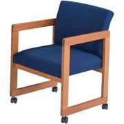 Classic Arm Chair with Casters - Gr. 2 Fabric