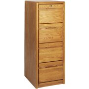 Contemporary 4-Drawer Vertical File Cabinet