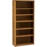 Contemporary Bookcase with 5 Shelves (36