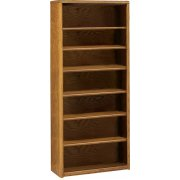 Contemporary Bookcase with 6 Shelves (36