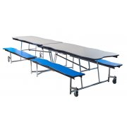 Bedrock Cafeteria Bench Table - 12'