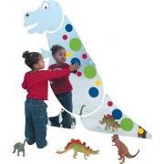 Friendly T-Rex Preschool Mirror