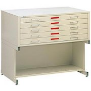 5-Drawer Flat File Cabinet for 36 x 48 Sheets