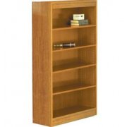 Reinforced Shelf Laminate Bookcase with 3 Shelves (60