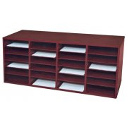 24-Compartment Literature Organizer