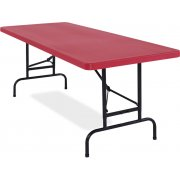 Colored Adj-Ht Blow-Molded Table (72