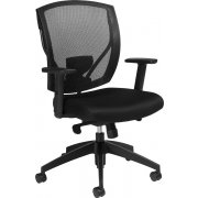 Offices to Go Mesh Back Synchro-Tilt Office Chair
