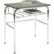Open View School Desk - Laminate Top, U Brace (30
