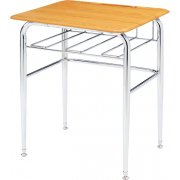 Open View School Desk - WoodStone Top, U-Brace (30