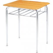 Open View School Desk - WoodStone Top (30