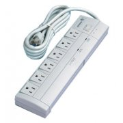 6-Outlet Surge Protector, UL approved