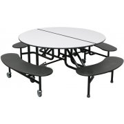 Easy-Fold Round Cafeteria Table (60