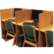 Panel Based Single Faced Carrel, Adder (37