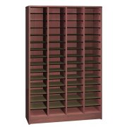 60 Compartment Radius Edge Literature Organizer